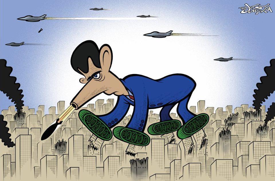 Akram Raslan comic