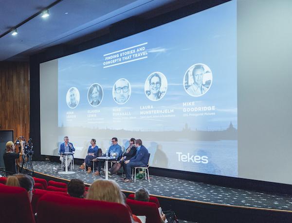 Finnish Film Affair event moderated by Adam Leipzig